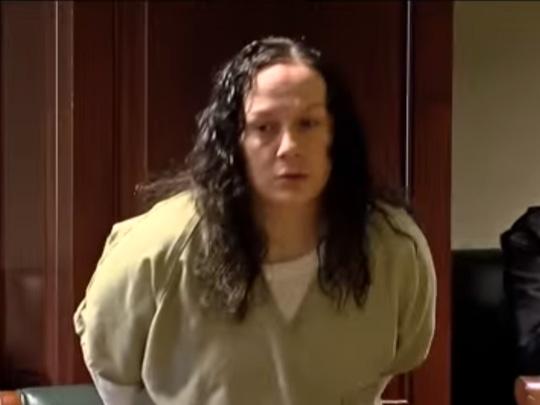 Bà Corcoran nhận án tù 51 năm vì đổi con gái lấy ma tuý. Ảnh Youtube