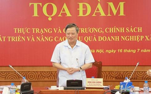 Phó trưởng Ban Kinh tế TƯ, từ trần