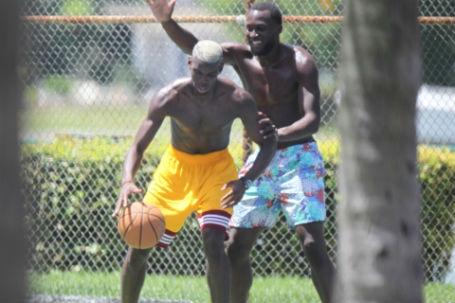 Pogba và Lukaku khá thân thiết với nhau