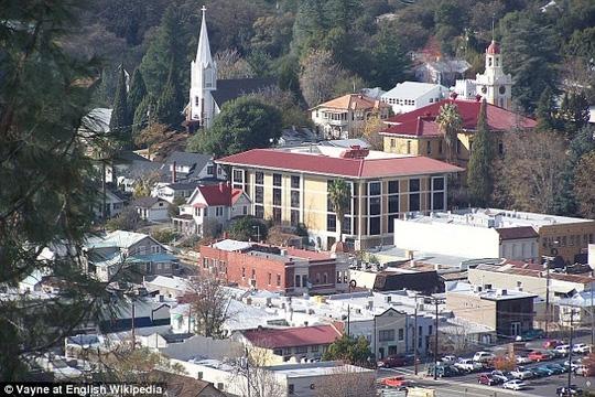 TP Sonora, bang California – Mỹ. Ảnh: WIKIPEDIA