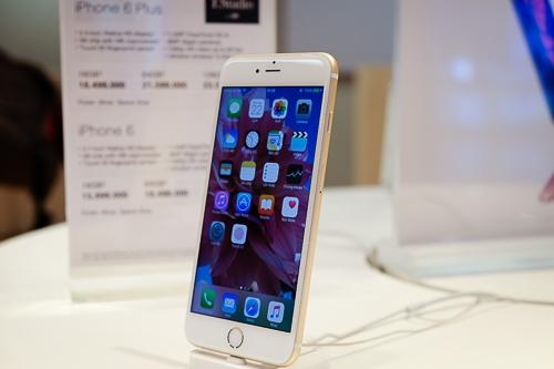 Tại một số hệ thống lớn, giá iPhone 6 Plus 16GB chính hãng được hạ xuống ngang bằng với iPhone 6 16GB.