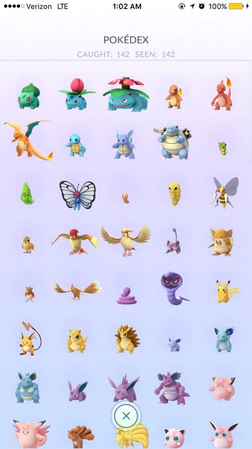 game thủ Mỹ, các Pokémon, Pokemon Go, Pokémon Go, chơi Pokémon Go, 142 Pokemon, Pokemon hiếm, Pokémon hiếm, sưu tập Pokémon, Nick Johnson