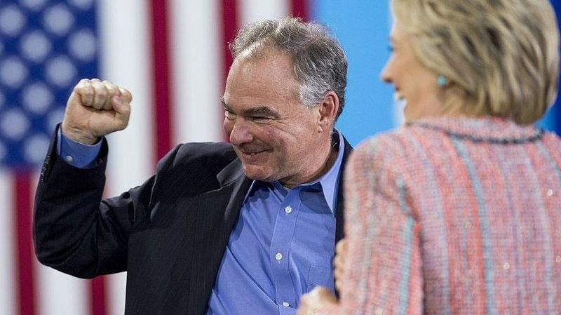 phó tướng Hillary, Tim Kaine, bầu cử TT Mỹ, tranh cử, điểm đặc biệt, ứng viên phó TT, bạn liên danh của Hillary