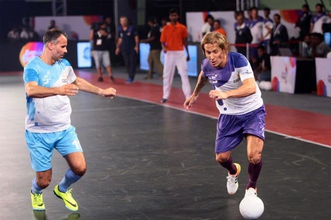 Giggs đăng quang ngôi vô địch bóng đá trong nhà - ảnh thể thao