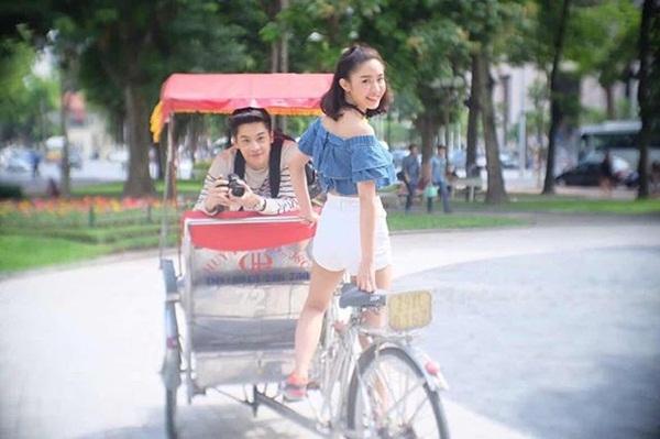 """Khung cảnh Hà Nội liên tục xuất hiện trong phim Thái """"Lovey Dovey Series"""" - Ảnh 19."""