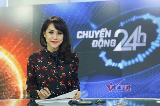 MC Trúc Mai, BTV Trúc Mai, VTV, Chuyển động 24h, BTV Ngọc Trinh
