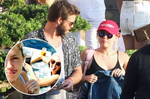 Miley Cyrus va Liam Hemsworth da bi mat ket hon hinh anh 1