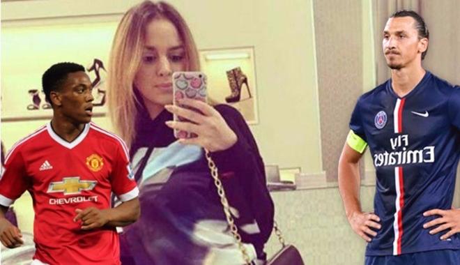 NÓNG: Vợ cũ hả hê khi Martial bị Ibra cướp mất áo số 9 ở Man United