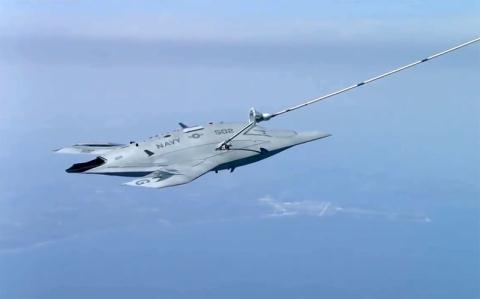 Cách cá đuối MQ-25A khắc chế tên lửa DF-21D  - Ảnh 1.