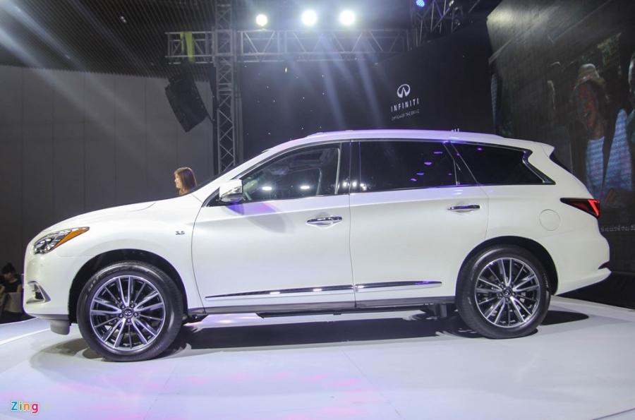 Chi tiet Infiniti QX60 - doi thu Audi Q7 tai Viet Nam hinh anh 2