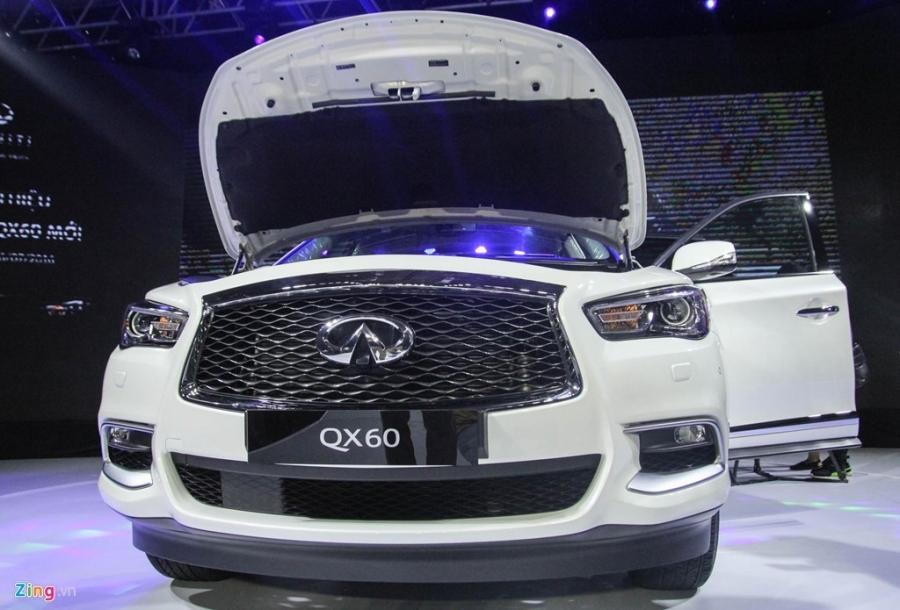 Chi tiet Infiniti QX60 - doi thu Audi Q7 tai Viet Nam hinh anh 7