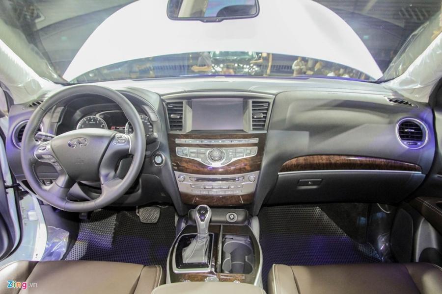 Chi tiet Infiniti QX60 - doi thu Audi Q7 tai Viet Nam hinh anh 8