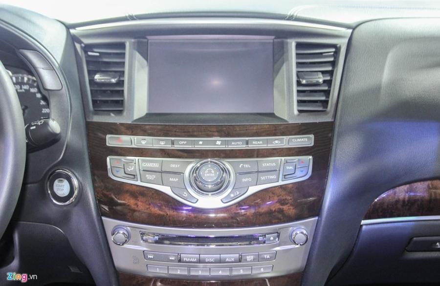Chi tiet Infiniti QX60 - doi thu Audi Q7 tai Viet Nam hinh anh 10