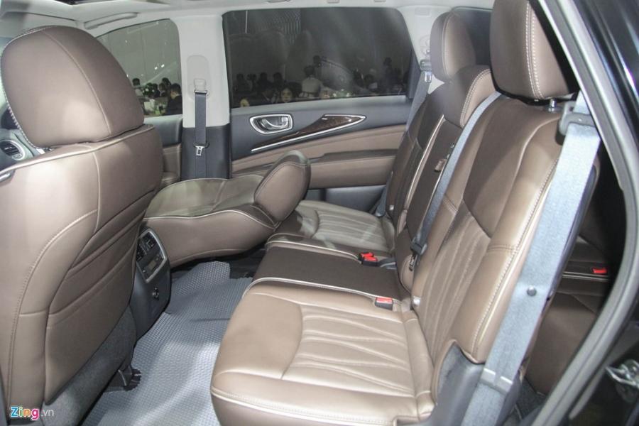 Chi tiet Infiniti QX60 - doi thu Audi Q7 tai Viet Nam hinh anh 12