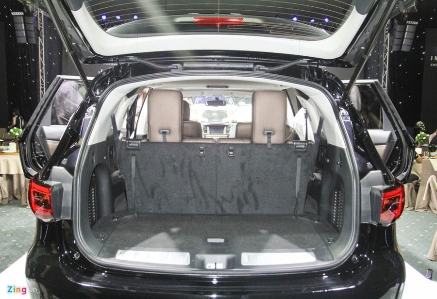 Chi tiet Infiniti QX60 - doi thu Audi Q7 tai Viet Nam hinh anh 13