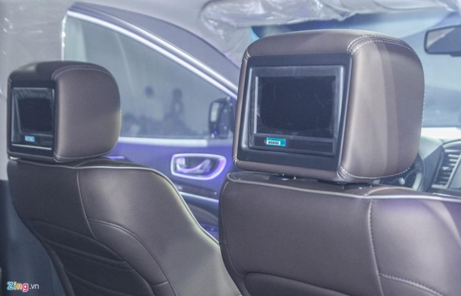Chi tiet Infiniti QX60 - doi thu Audi Q7 tai Viet Nam hinh anh 14