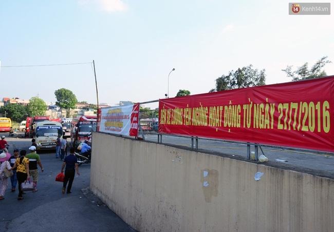 Chuyến xe cuối cùng rời bến xe Lương Yên trước khi dừng hoạt động - Ảnh 11.