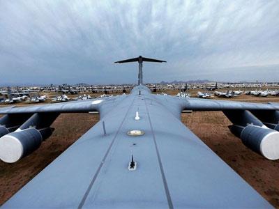 Điều chưa biết về nghĩa địa máy bay lớn nhất thế giới