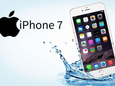 iPhone 7 trang bị nút Home cảm ứng nhưng không chống thấm nước