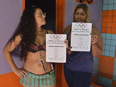 Gái bán hoa Brazil đồng loạt đại hạ giá mùa Olympic 2016