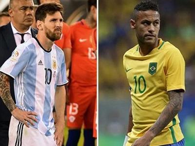 Neymar giã từ sự nghiệp quốc tế giống như Messi?