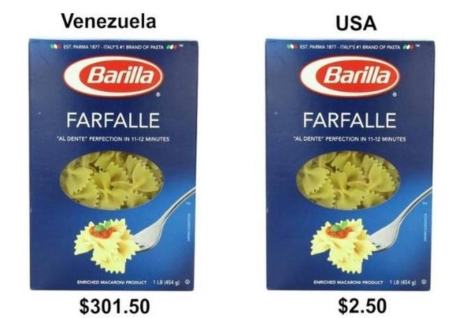 'Do' gia thuc pham o Venezuela va My hinh anh 5