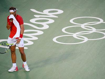 Nadal vuột vé vào chung kết Olympic Rio 2016