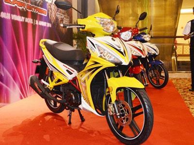SYM Sport Rider 125i giá gần 1.400 USD tại Malaysia