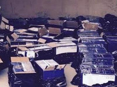 Thu hàng trăm chai rượu ngoại không giấy tờ hợp lệ