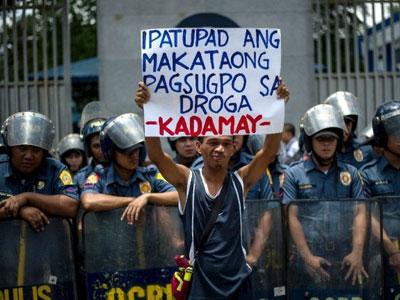 Tổng thống Philippines: Con nghiện ma túy không phải là người