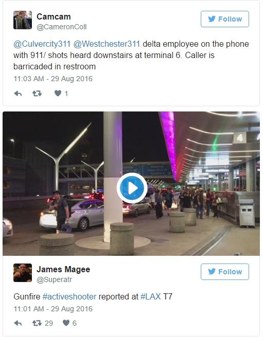 NÓNG: Xả súng tại sân bay quốc tế Los Angeles, Mỹ - Ảnh 2.