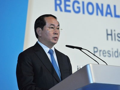 Chủ tịch nước cảnh báo tất cả sẽ thua nếu xung đột Biển Đông