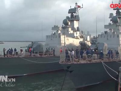 Ngắm cặp tàu tên lửa Molniya mới tinh của Việt Nam