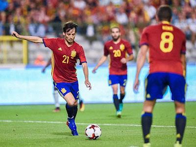 Tây Ban Nha quật ngã Bỉ trong trận ra mắt của tân HLV Lopetegui