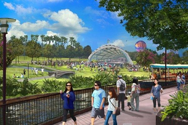 động thổ công viên 'Disneyland', công viên Kim Quy, hà Nội