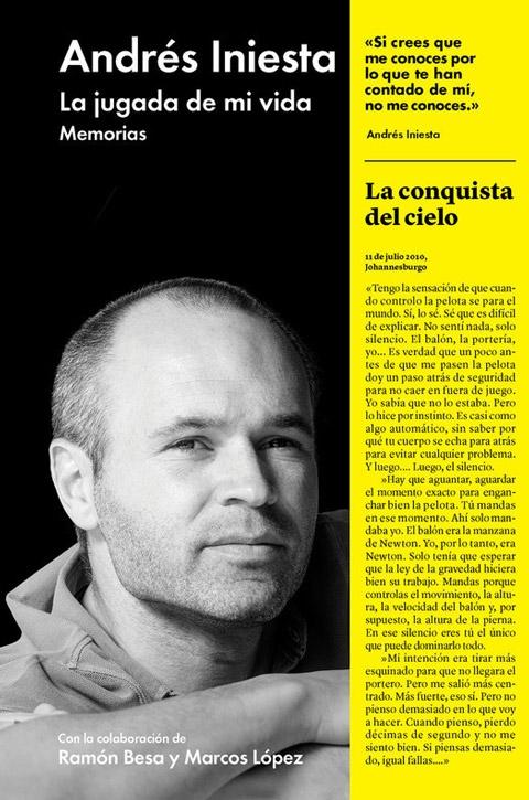 Cuốn tự truyện đầy cảm động của Iniesta về những năm tháng đầu tiên tại Barca