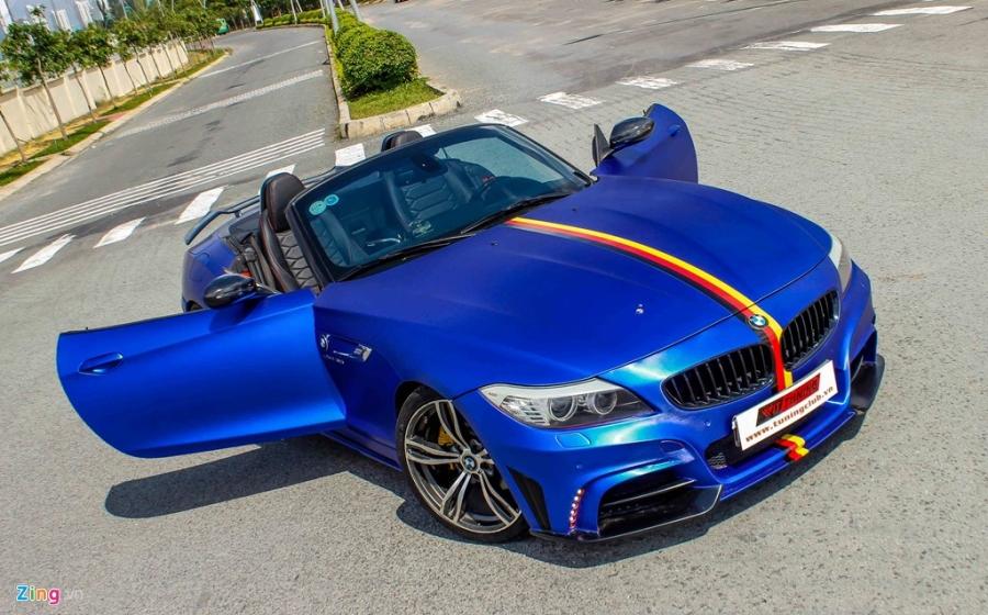 BMW Z4 do goi do choi cua Nhat het 150 trieu dong hinh anh 2
