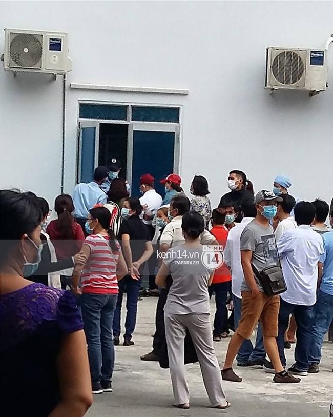Bố Minh Thuận có mặt bệnh viện để theo dõi tình hình của con trai - Ảnh 3.