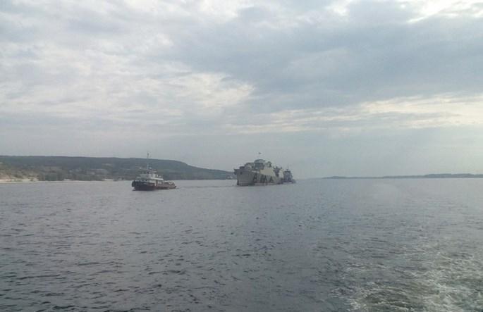 Chùm ảnh tàu chiến Gepard 3 9 thứ ba của Việt Nam ra cửa biển Azov - ảnh 2