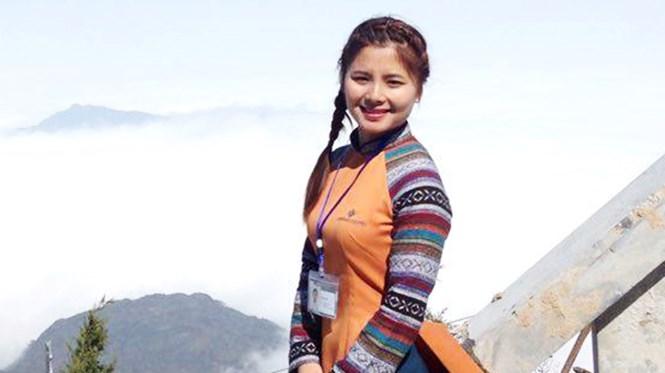 Chảo Thị Yến - cô gái người Dao xinh đẹp, hiếu học /// Ảnh NVCC