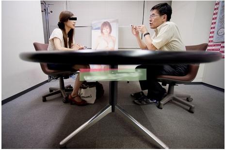 Đột nhập buổi casting diễn viên phim người lớn Nhật - 1