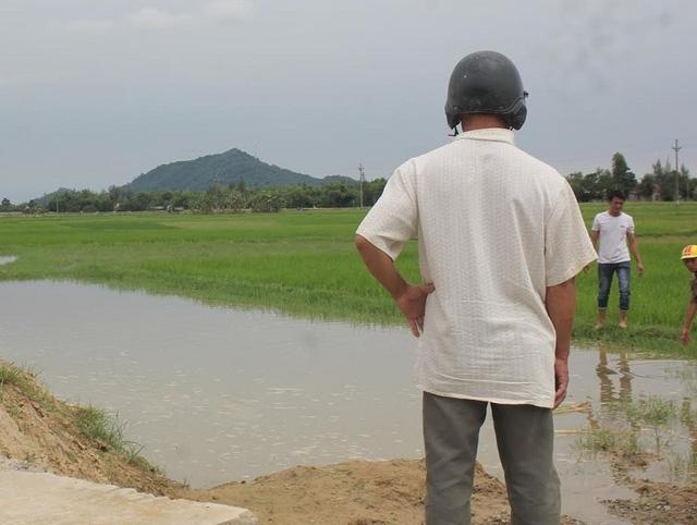 Địa điểm xảy ra vụ đuối nước thương tâm