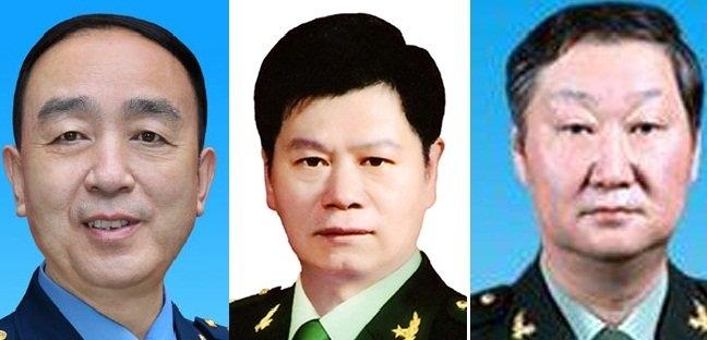 Từ trái qua: Điền Tu Tư, Chu Lâm Hòa và Trương Minh