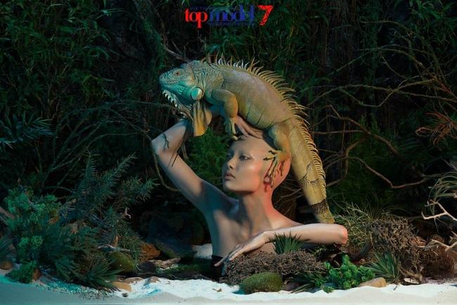Next Top Model: Khán giả nổi giận khi Nguyễn Phương, Huy Dương bất ngờ bị loại - Ảnh 10.