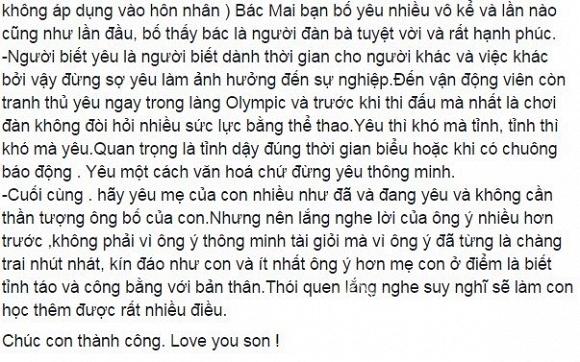 Quốc Trung gửi thư cho con trai  4