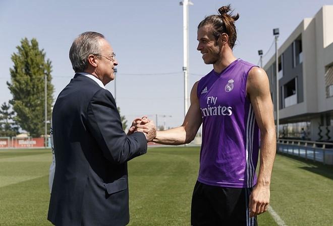 Real tang luong ky luc cho Gareth Bale hinh anh 1