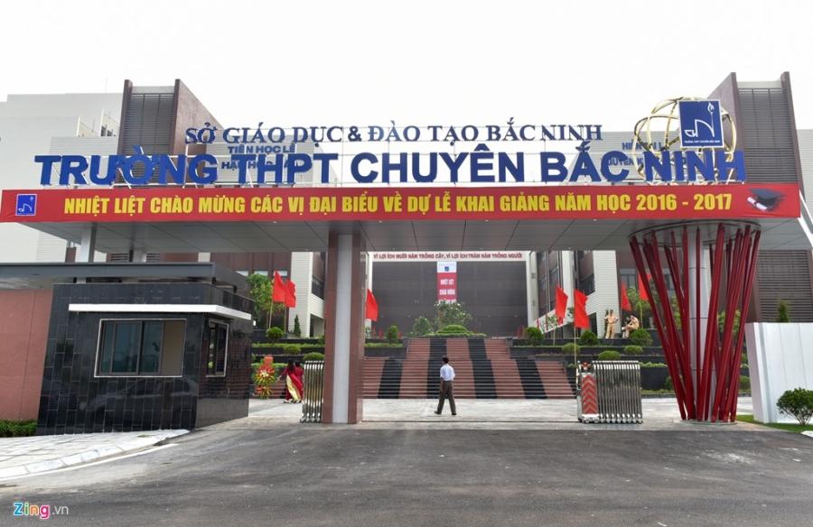Ben trong ngoi truong pho thong 600 ty dong o Bac Ninh hinh anh 2
