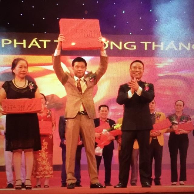 Những lễ trao thưởng rất hoành tráng của Thăng Long Group nhưng số tiền thưởng là sai lệch