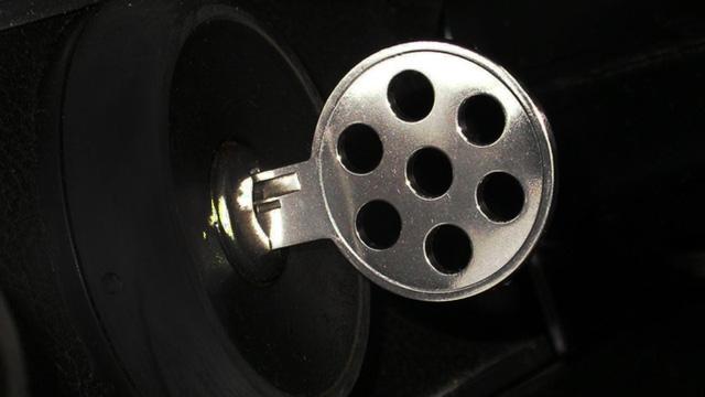 Porsche 917 sở hữu chìa khóa khá đơn giản nhưng tinh tế.