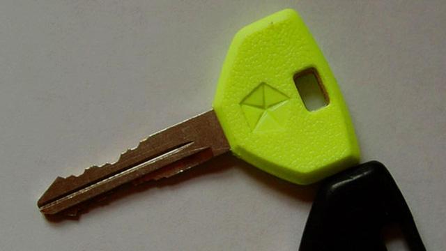Chìa khóa phản quang của Chrysler.